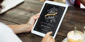 A new and revolutionary trend – Digital Invitations for Weddings