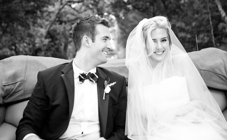 Black and White Wedding Photography Style