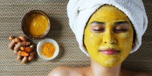 How to avoid stained bright yellow skin on your haldi!