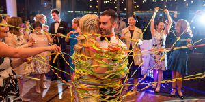 Ideas for making wedding reception fun and playful