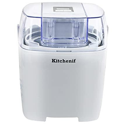 Kitchenif Digital Ice Cream, Sorbet, Slush & Frozen Yoghurt Maker