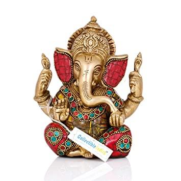 Lord Ganesha Idol in Brass