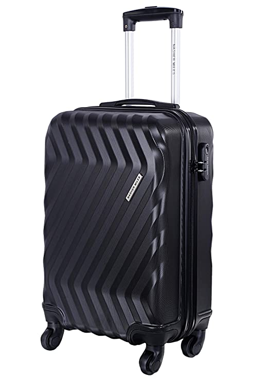 Nasher Miles Lombard Soft-Side Luggage Set of 2 Grey Trolley Bags