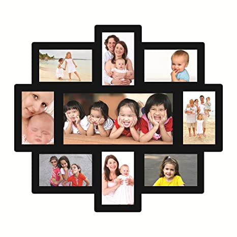 Trendzy Wooden 12-in-1 Sweet Home Collage Wall Hanging Photo Frame