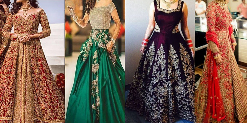 Wedding attire for the Reception