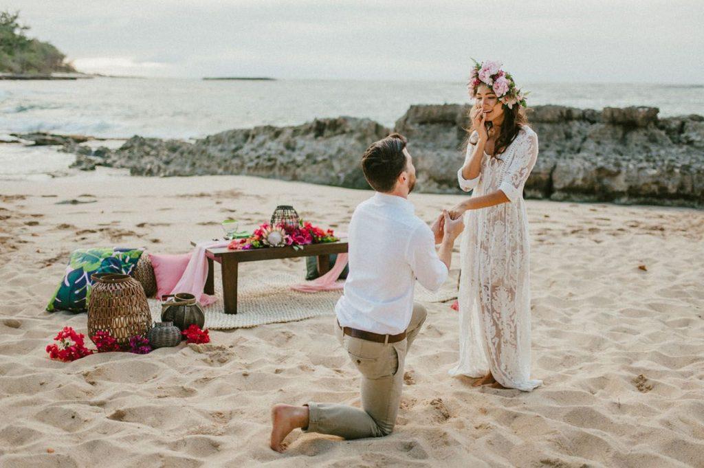 A beachy proposal