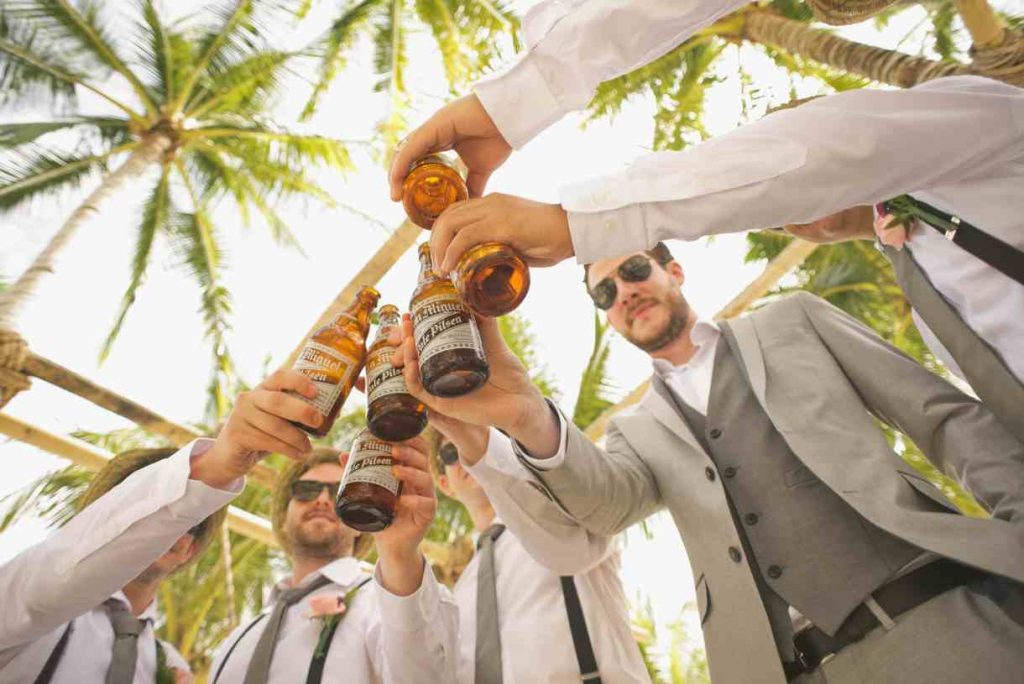 Go for Camping to celebrate bachelor party