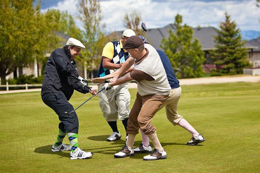 Go golfing for the bachelor party