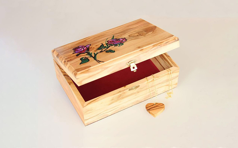 Personalized hand painted boxes