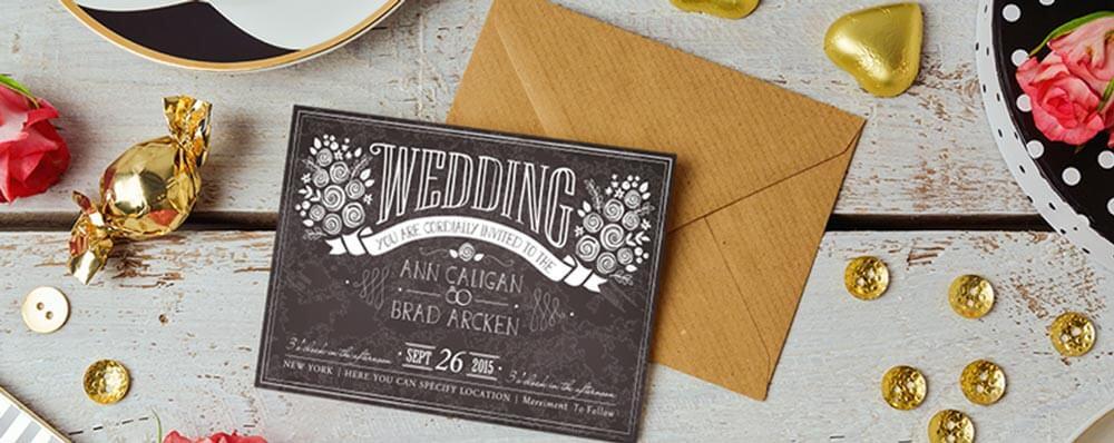 Send printed invites