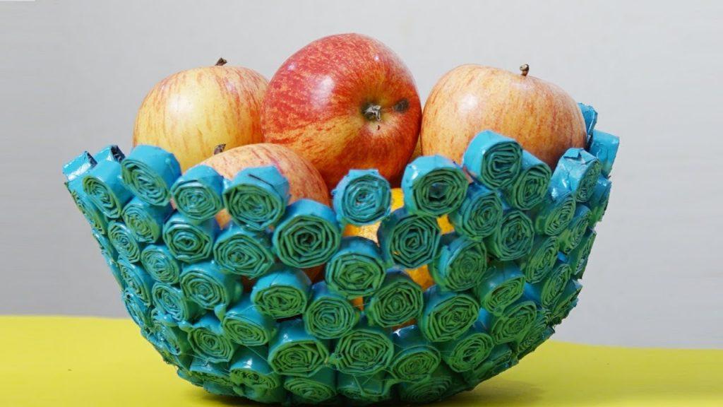 beautifully created fruit basket