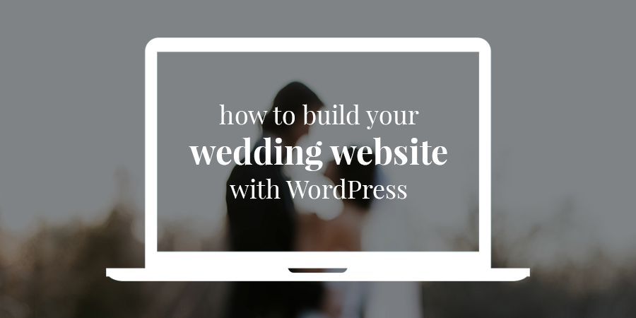 Build your wedding website
