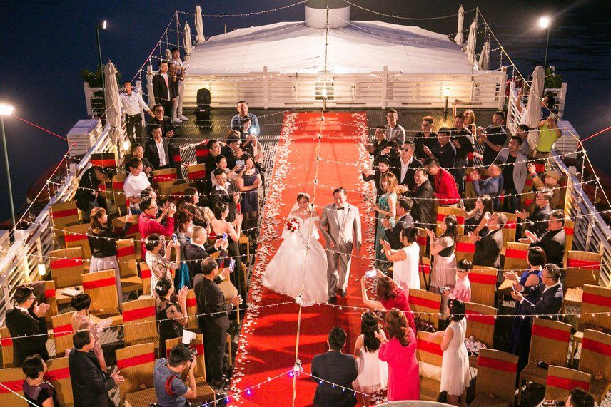 Duration of cruise ship wedding