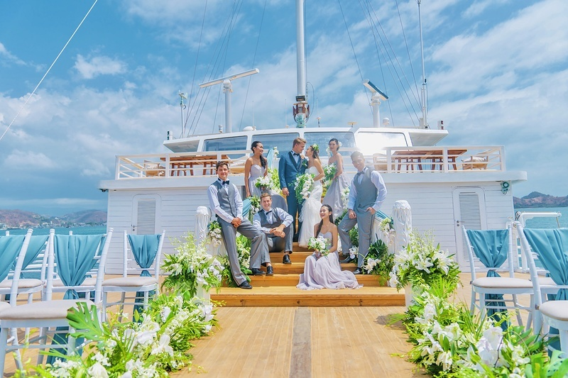 Popular cruise locations for weddings