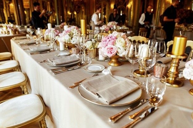 Wedding Crockery