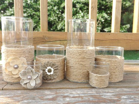Wedding Decor Items- Candle Holders & Vases