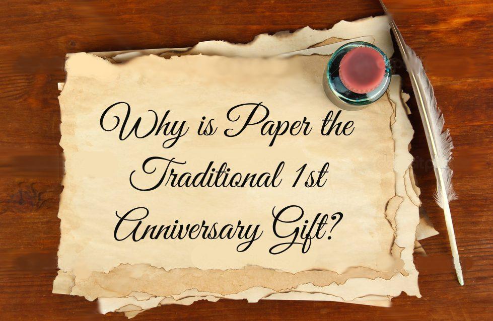 1st Anniversary- Paper