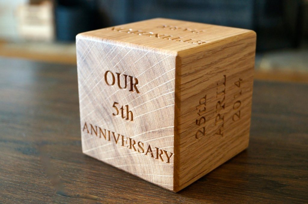 5th Anniversary- Wood
