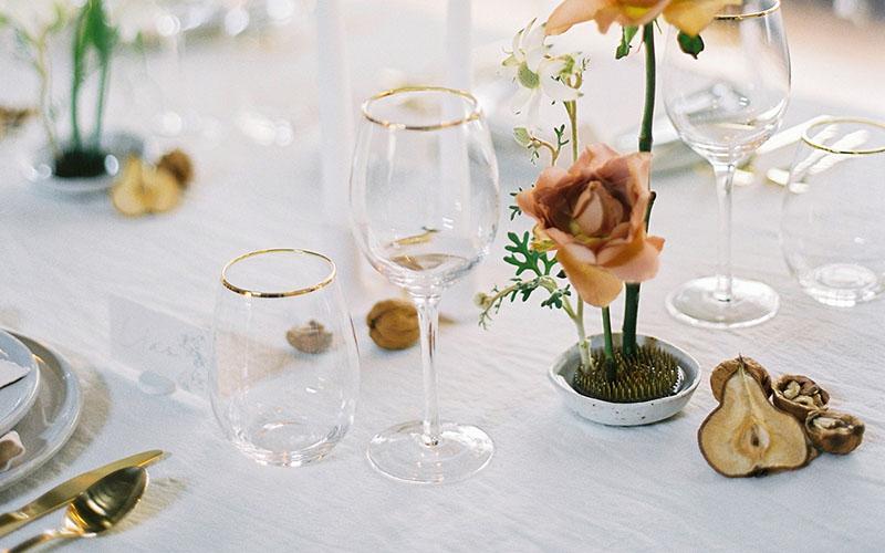 Customization in wine glasses