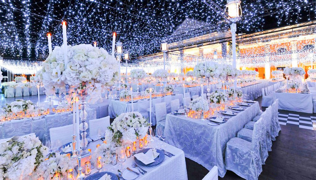 Fabulous ideas for a wedding reception in winter