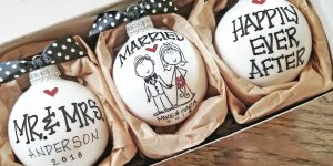 Personalized (DIY) wedding gifts ideas for couples