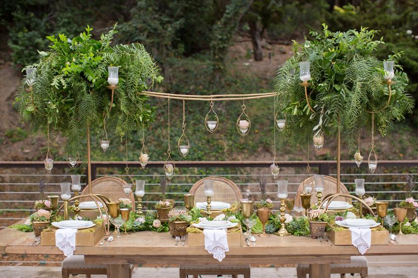 Wedding Green decor
