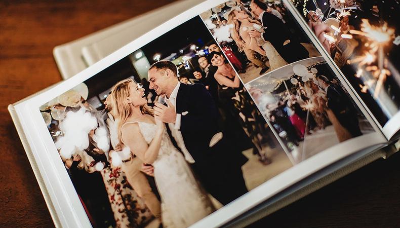 Make your wedding album wonderful with these innovative ideas