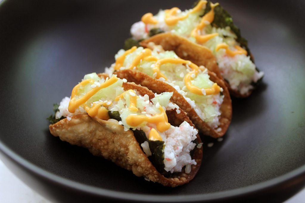 Crisp and Cute Tacos