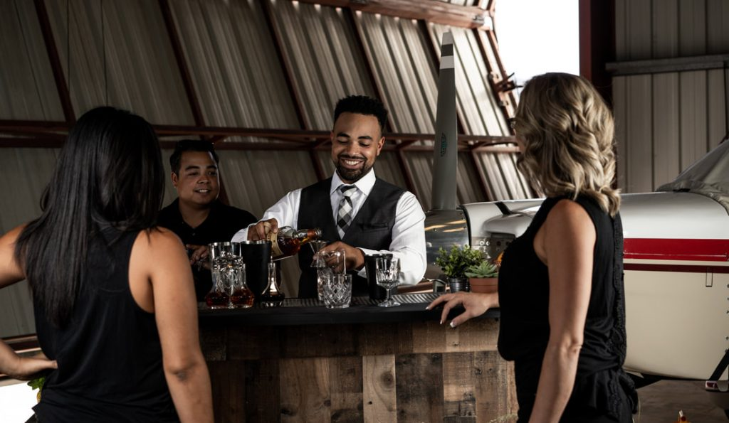 Hiring professional bartenders can help you have your guests busy and entertained