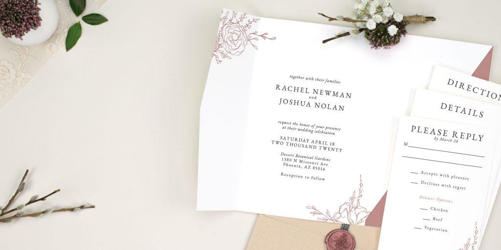 Opt for E-Vites over Printed Wedding Invites