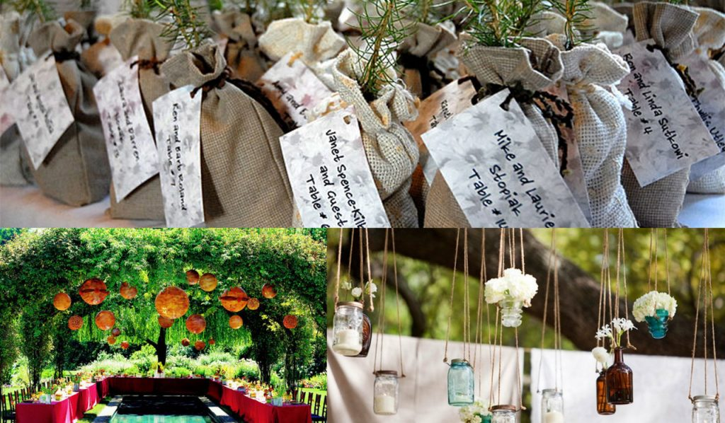 Opt for Eco-friendly Wedding favors