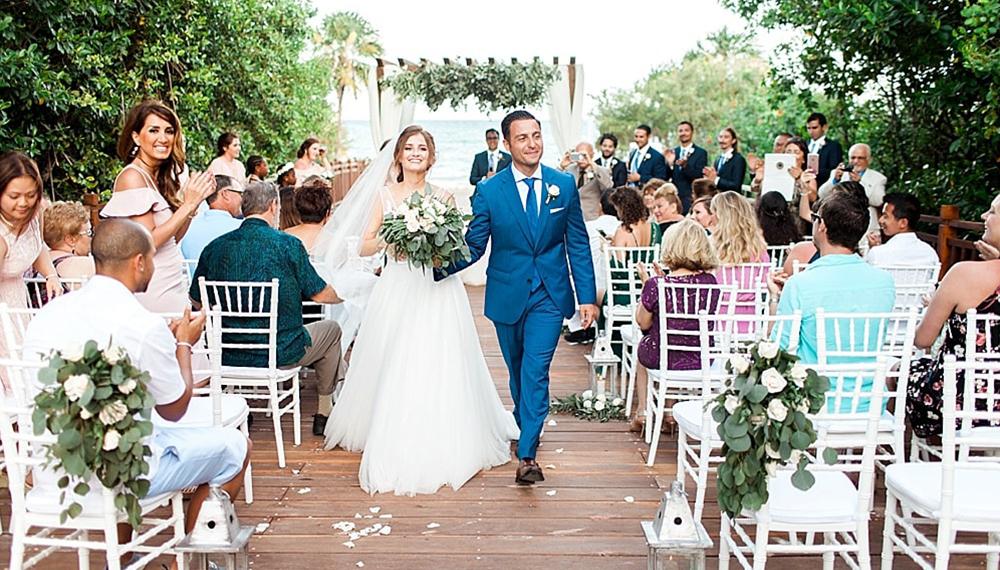 How do you do a simple wedding?