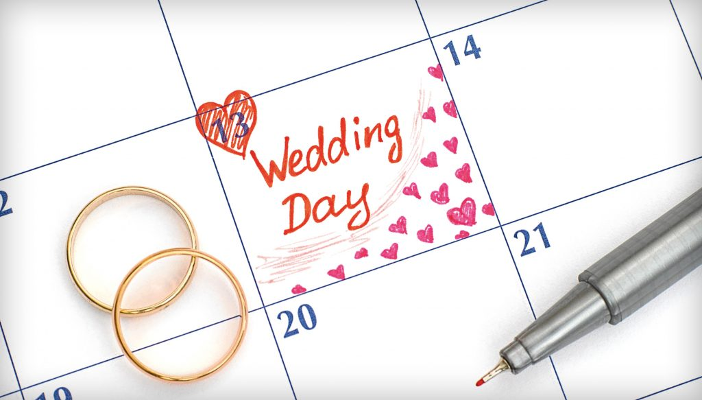 Most Popular Wedding Dates in 2020