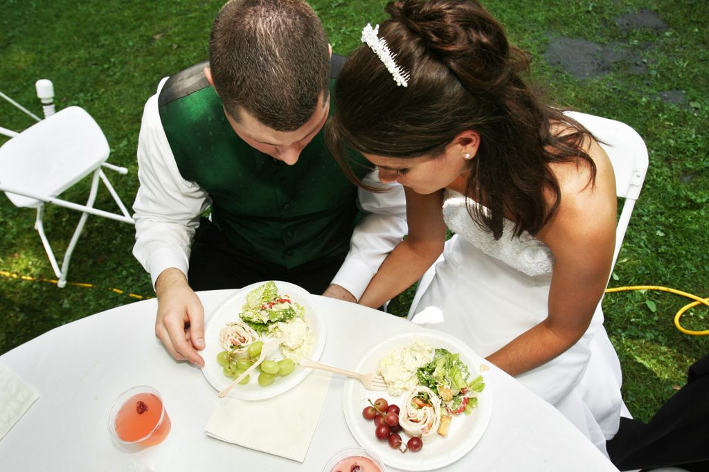 Attend post wedding lunches and dinners