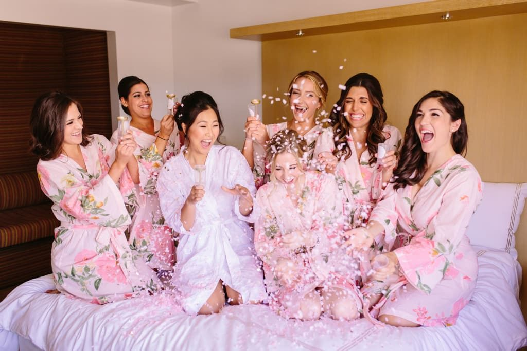 Avoid planning bachelorette or bachelors' party just a day before your wedding