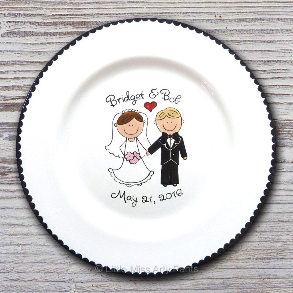 Date wedding platter