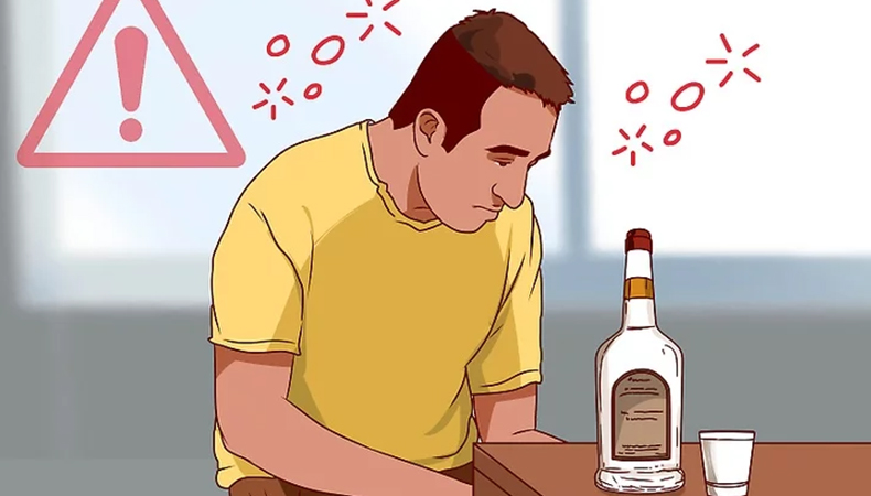 Getting high or drunk image