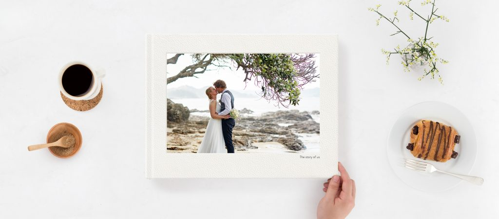 Order your final wedding photo book