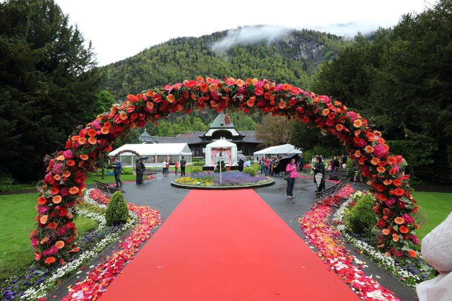 Red Rose Entrance