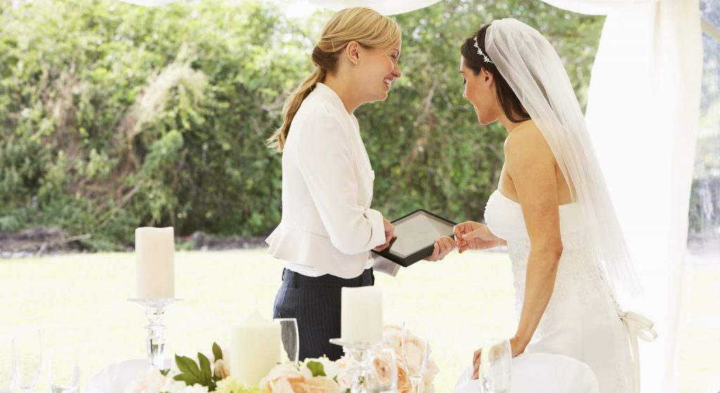 Return all your wedding rentals