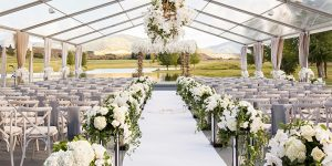 Beautiful ideas for wedding tents