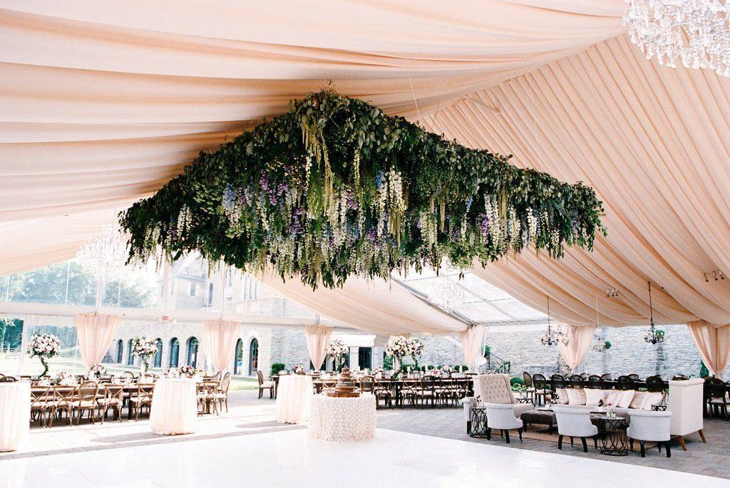 Flower Ceiling Tent