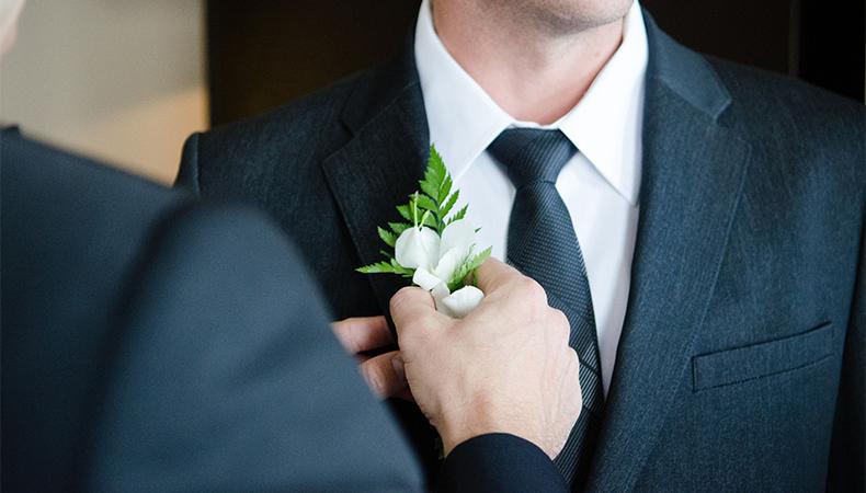 Wedding tips for groom