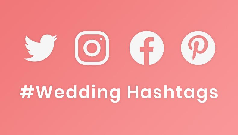 Popular Wedding Hashtags