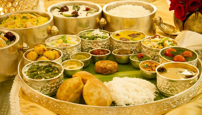 Latest Indian Wedding Food Menu List