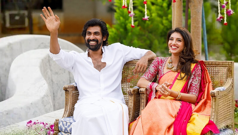 Rana Daggubati's Roka Ceremony With Miheeka Bajaj During Lockdown