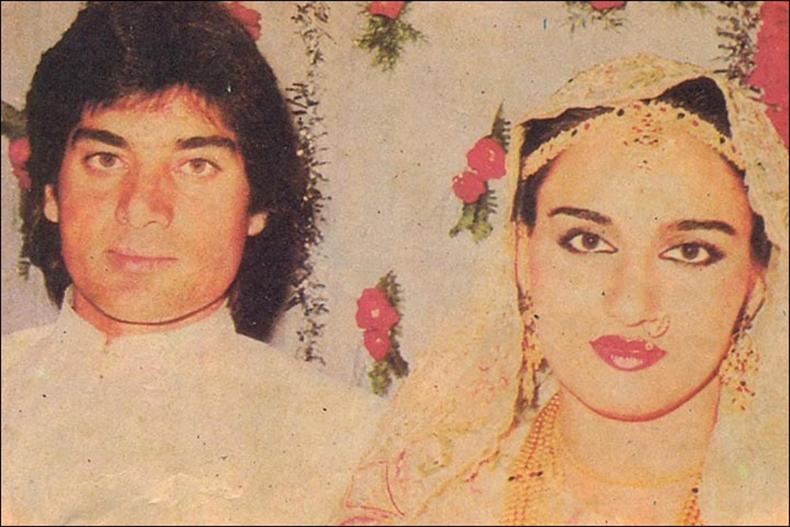 Mohsin Khan and Reena Roy
