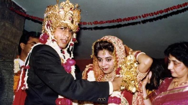 Shah Rukh Khan and Gauri Chibber