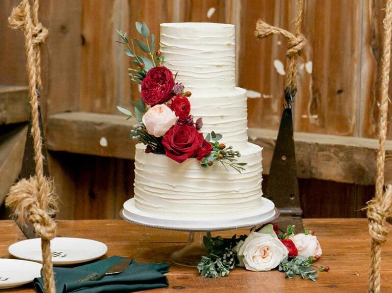 Wedding Cake Has to Be White