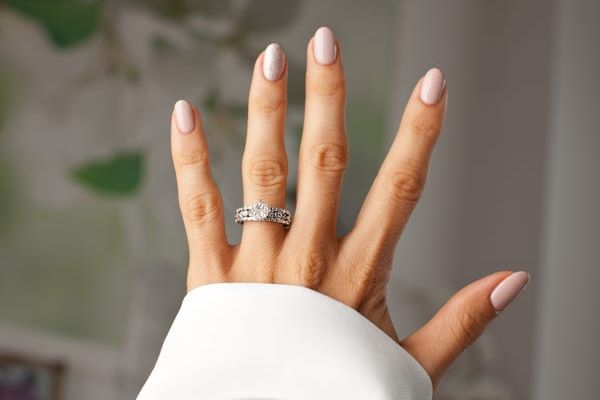 jewelry ring with bride